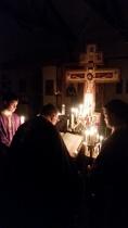 The vigil of the Passion Gospels
