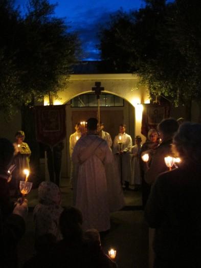 Paschal Matins Procession