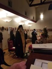 Bishop +Benedict celebrated Great Vespers on Saturday evening.