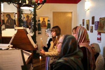 The choir. Photo courtesy of Jim King.